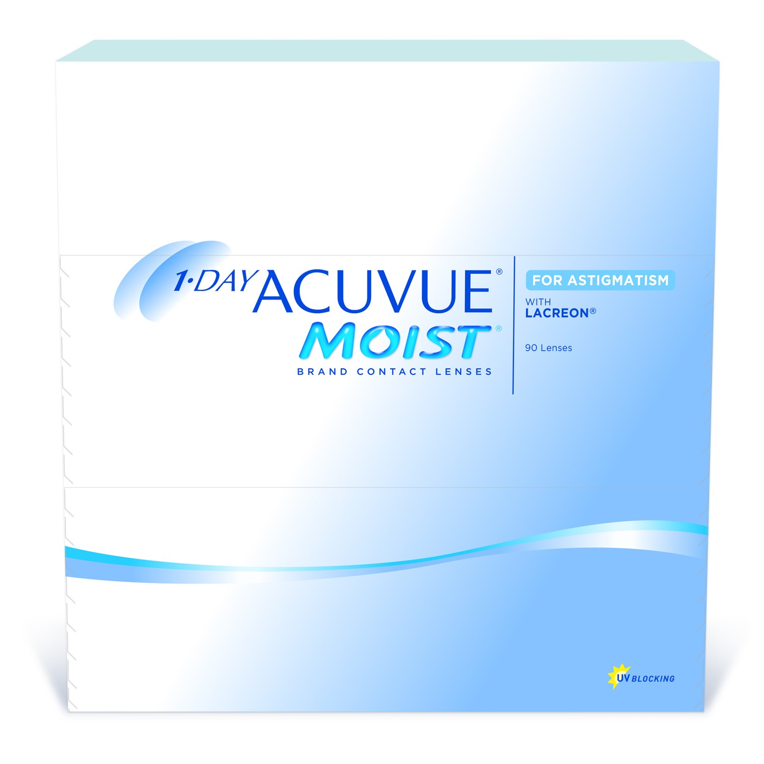 1-Day Acuvue Moist Brand for Astigmatism 90 Pack